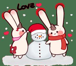 Little Unicorn Bunny 3 sticker #8408878