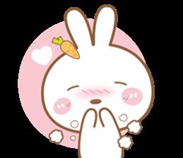 Bear & Rabbit Lover (EN) sticker #8412674
