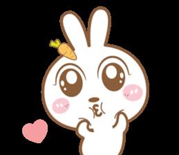 Bear & Rabbit Lover (EN) sticker #8412681