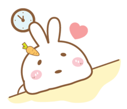 Bear & Rabbit Lover (EN) sticker #8412682