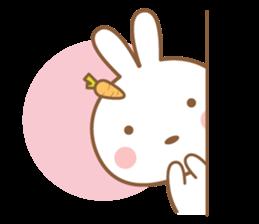 Bear & Rabbit Lover (EN) sticker #8412685