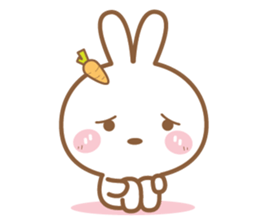 Bear & Rabbit Lover (EN) sticker #8412686
