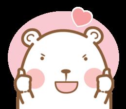 Bear & Rabbit Lover (EN) sticker #8412688