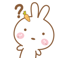 Bear & Rabbit Lover (EN) sticker #8412689