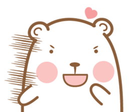 Bear & Rabbit Lover (EN) sticker #8412690