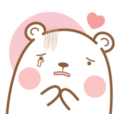 Bear & Rabbit Lover (EN) sticker #8412693