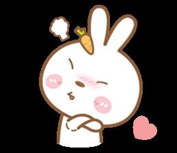 Bear & Rabbit Lover (EN) sticker #8412694