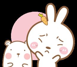 Bear & Rabbit Lover (EN) sticker #8412700