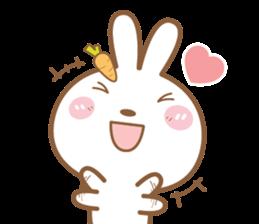 Bear & Rabbit Lover (EN) sticker #8412701