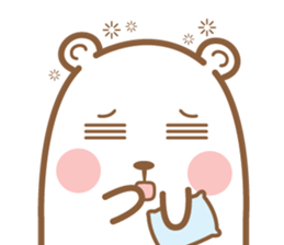 Bear & Rabbit Lover (EN) sticker #8412702