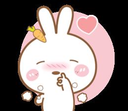 Bear & Rabbit Lover (EN) sticker #8412704