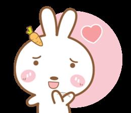 Bear & Rabbit Lover (EN) sticker #8412705