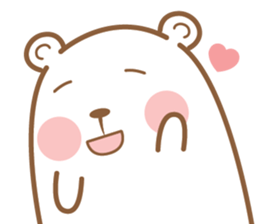 Bear & Rabbit Lover (EN) sticker #8412707