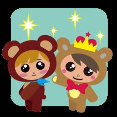 Lovely Bear & Prince Bear
