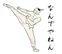 I am Kung fu master sticker #8415481