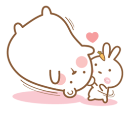 Bear & Rabbit Lover 2 (EN) sticker #8416316