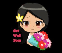 Cute & Lovely Little Girl sticker #8416742