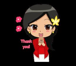 Cute & Lovely Little Girl sticker #8416747