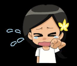 Cute & Lovely Little Girl sticker #8416751