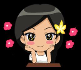 Cute & Lovely Little Girl sticker #8416752