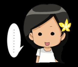 Cute & Lovely Little Girl sticker #8416757