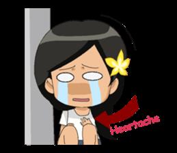 Cute & Lovely Little Girl sticker #8416761