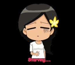 Cute & Lovely Little Girl sticker #8416763