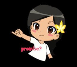 Cute & Lovely Little Girl sticker #8416768