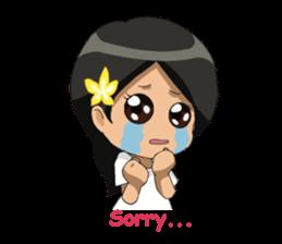Cute & Lovely Little Girl sticker #8416770