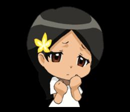 Cute & Lovely Little Girl sticker #8416775