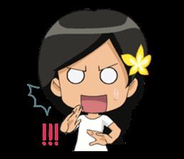 Cute & Lovely Little Girl sticker #8416779