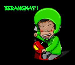 O Jack Si Abang Ojek (Indonesia Ver.) sticker #8418300