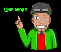 O Jack Si Abang Ojek (Indonesia Ver.) sticker #8418301