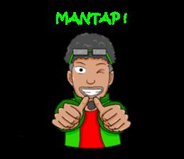 O Jack Si Abang Ojek (Indonesia Ver.) sticker #8418311