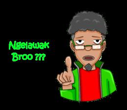 O Jack Si Abang Ojek (Indonesia Ver.) sticker #8418312