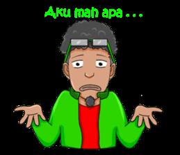 O Jack Si Abang Ojek (Indonesia Ver.) sticker #8418318
