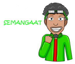 O Jack Si Abang Ojek (Indonesia Ver.) sticker #8418321