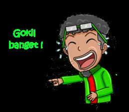 O Jack Si Abang Ojek (Indonesia Ver.) sticker #8418327