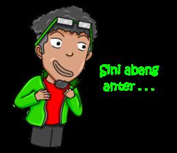 O Jack Si Abang Ojek (Indonesia Ver.) sticker #8418329