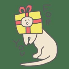long neck dinosaur sticker #8419524