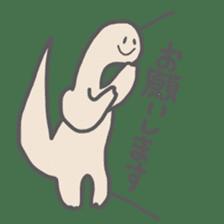 long neck dinosaur sticker #8419539