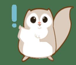 Cute Flying squirrel hari sticker #8422261