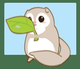 Cute Flying squirrel hari sticker #8422264
