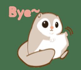Cute Flying squirrel hari sticker #8422265