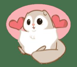 Cute Flying squirrel hari sticker #8422266