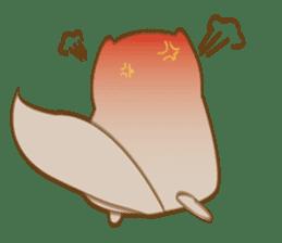 Cute Flying squirrel hari sticker #8422267