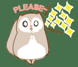 Cute Flying squirrel hari sticker #8422268