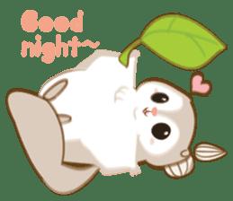 Cute Flying squirrel hari sticker #8422269