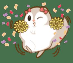 Cute Flying squirrel hari sticker #8422272