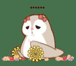 Cute Flying squirrel hari sticker #8422273